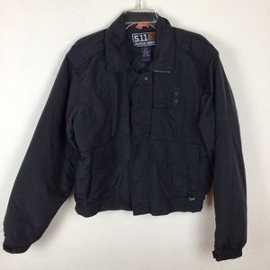 5.11 Tactical series nylon zip out lined jacket-L